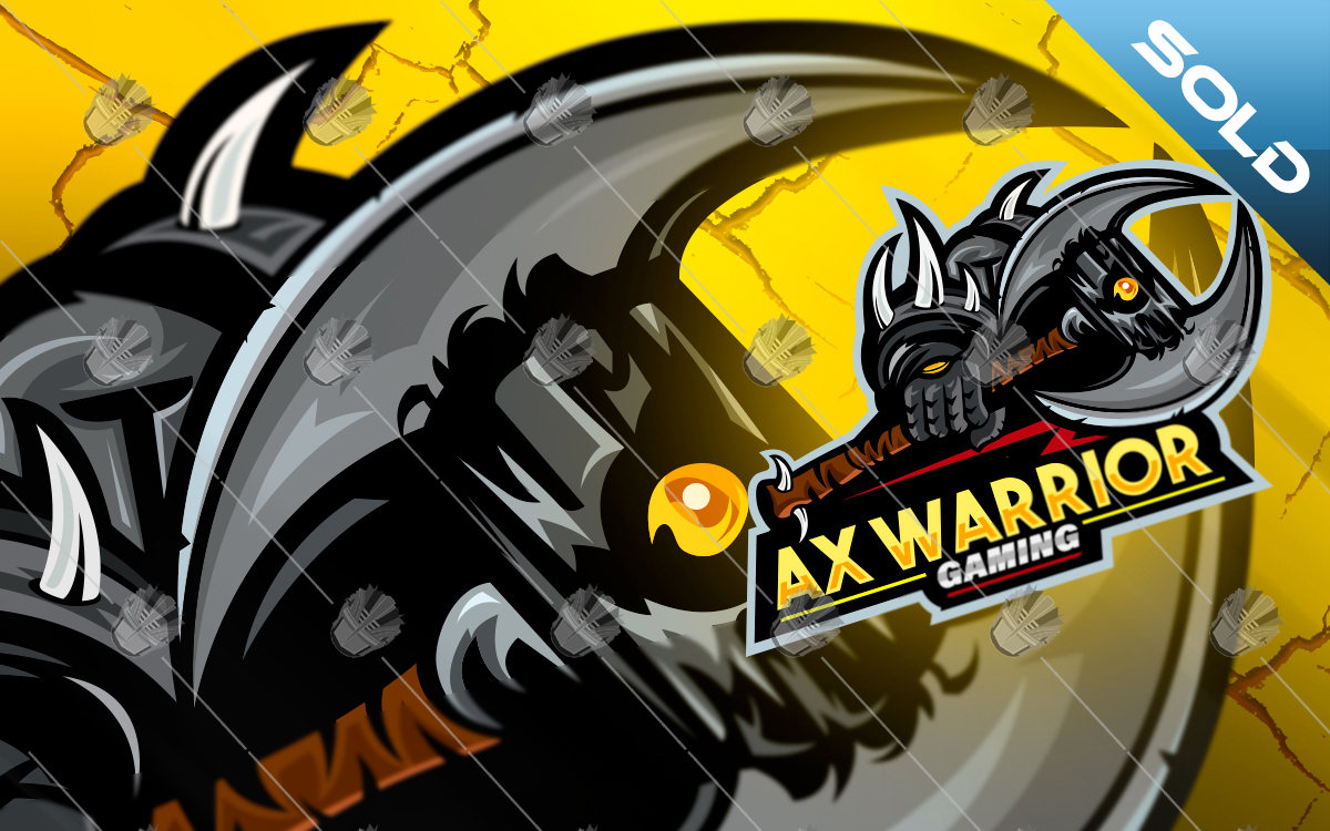 warrior gaming esports logo