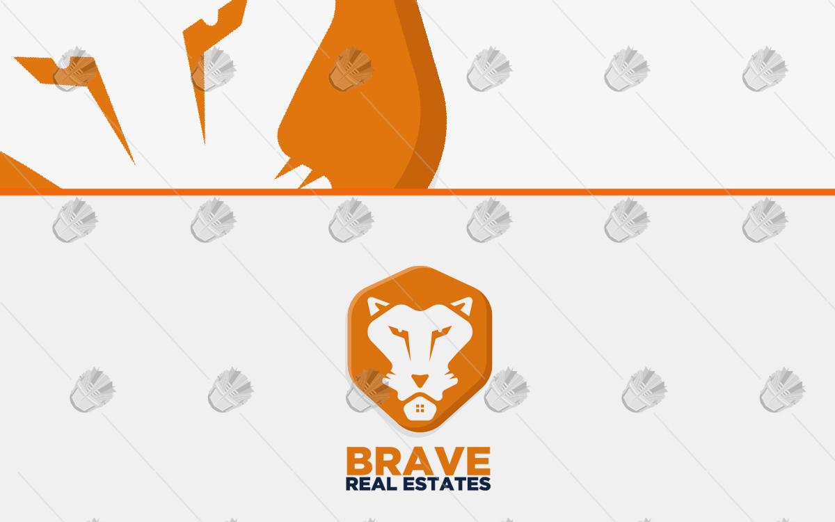 lion logo for sale lion real estate logo