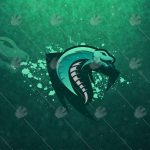 Premade Cobra Mascot Logo For Sale | Cobra eSports Logo