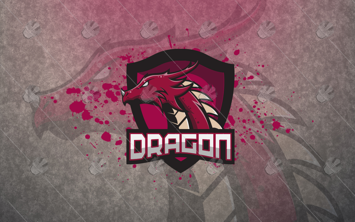 dragon mascot logo dragon esports logo