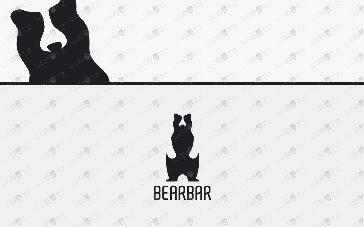 bear logo for sale