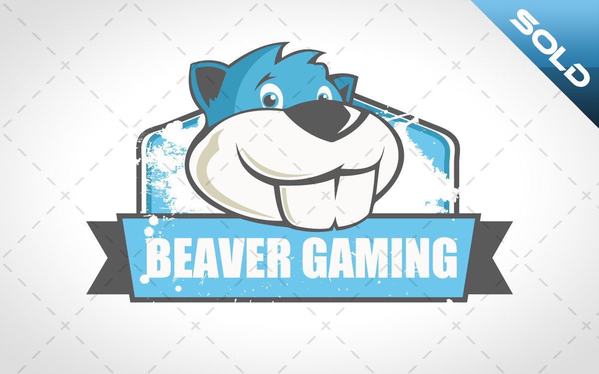 beaver gaming logo for sale