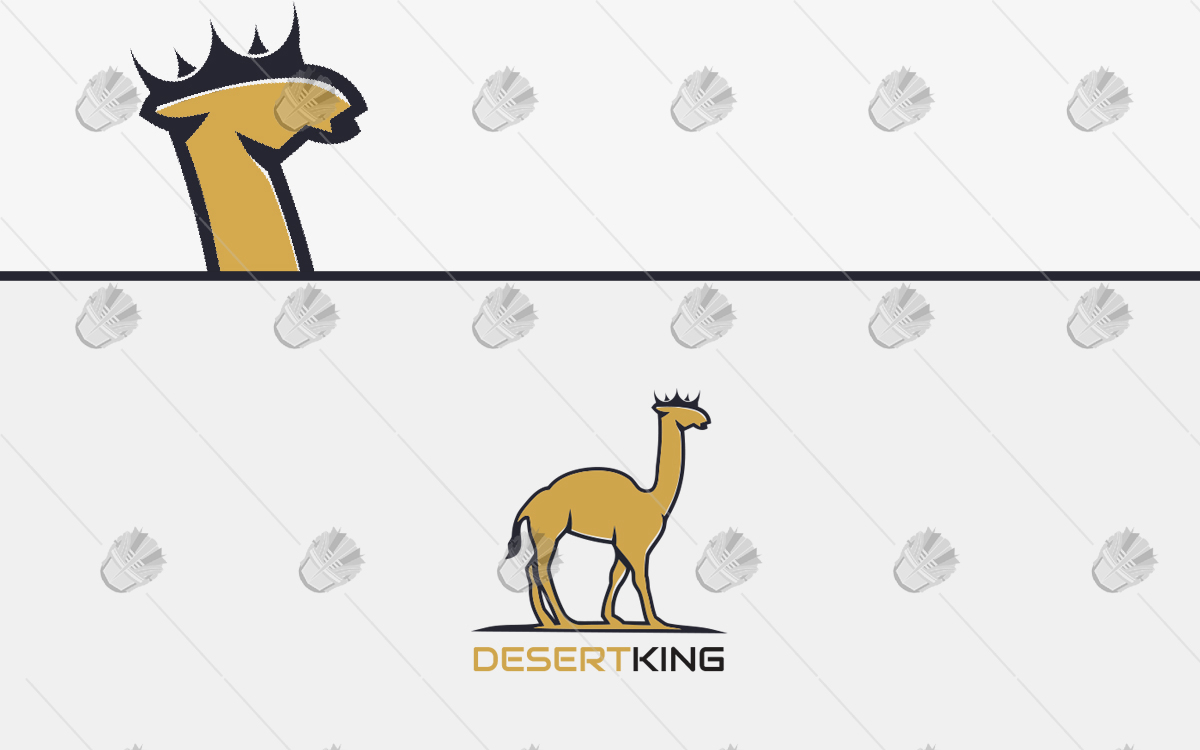 281e30c9e0c Desert King Camel Logo For Sale | Premade Logos Shop Online - Lobotz