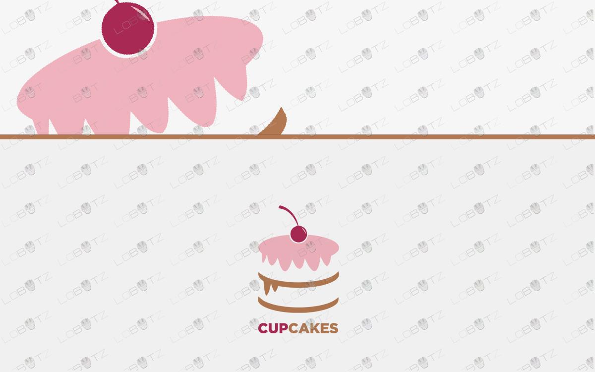 baking cake logo for sale