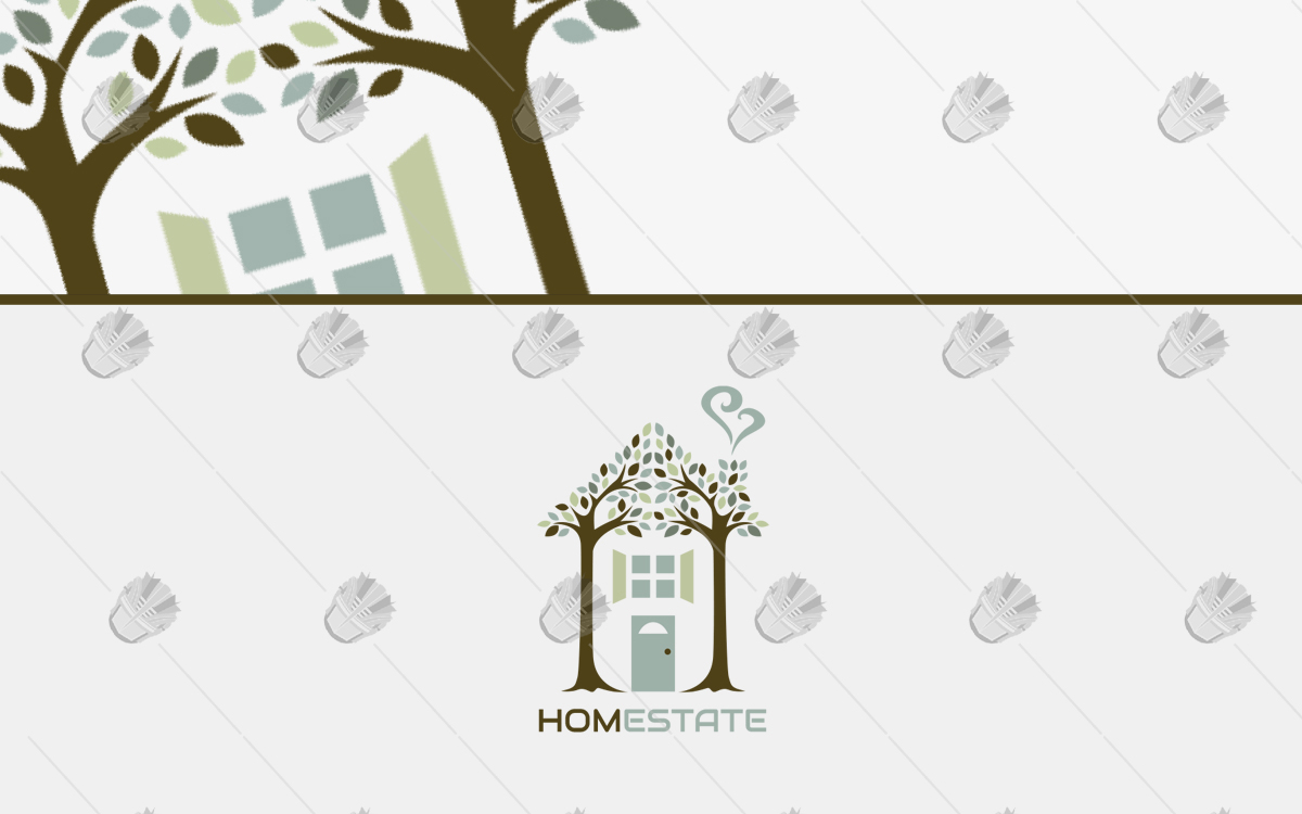 real estate logo home logo for sale