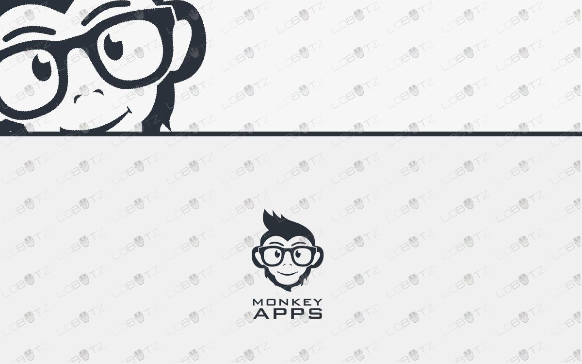 monkey head logo for sale