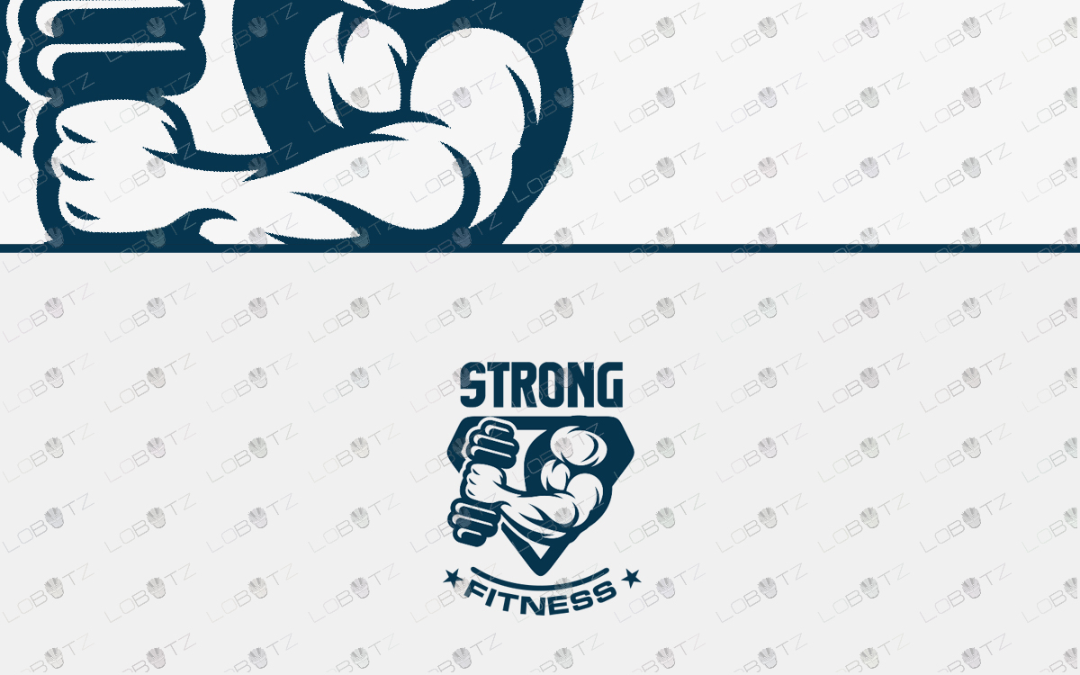 fitness logo gym logo bodybuilding logo