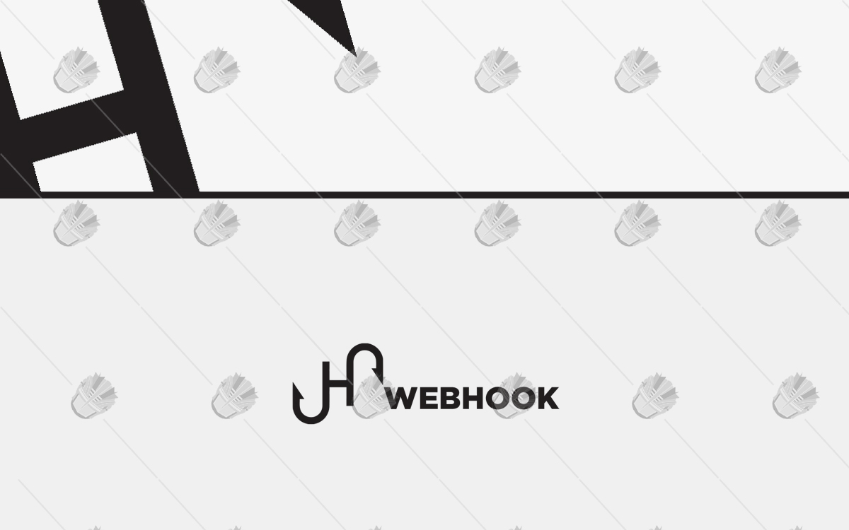 webhook logo business logo for sale