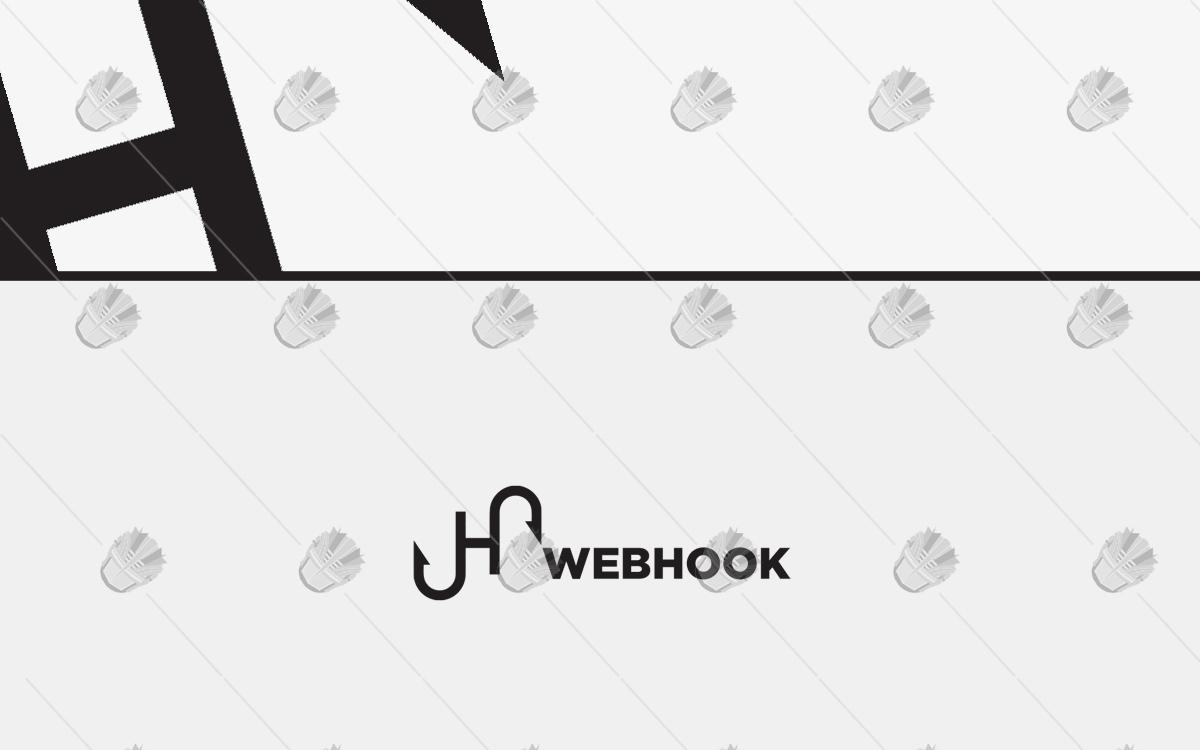 webhook logo business logo for sale