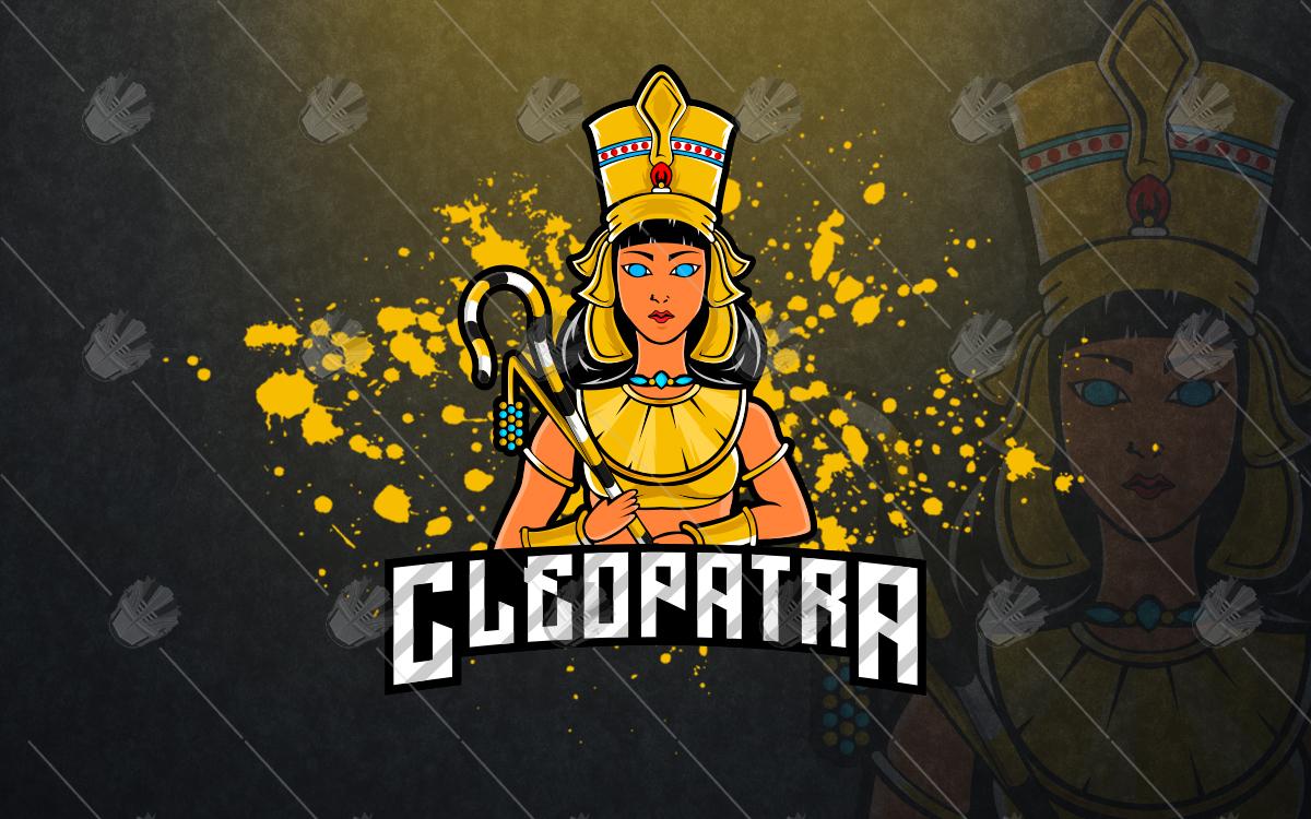 cleopatra mascot logo