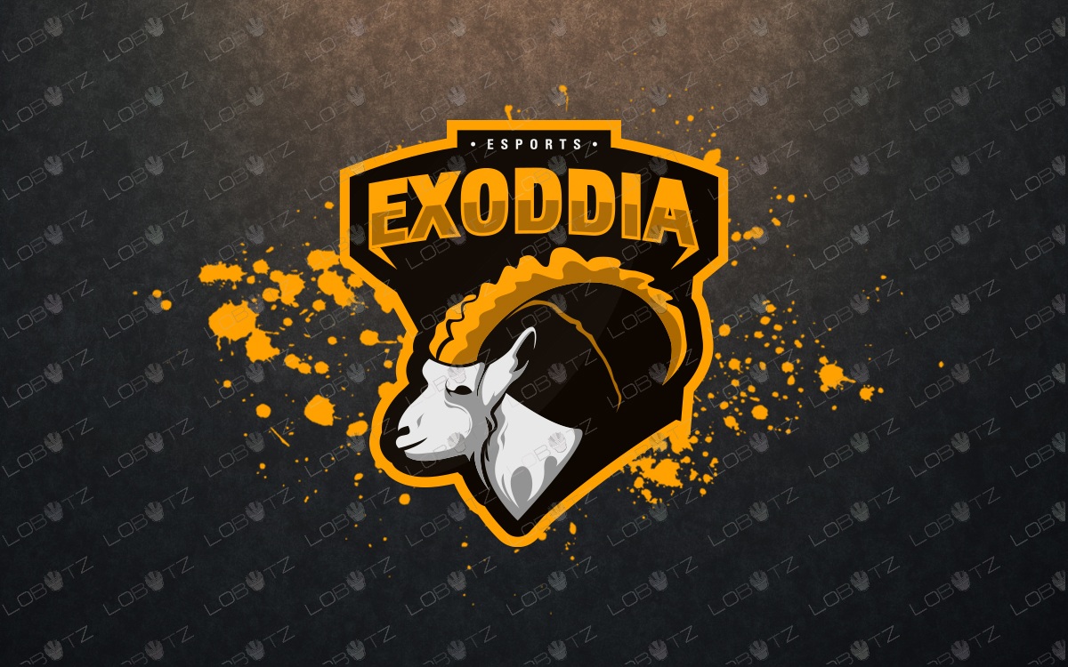 goatmascot logo for sale
