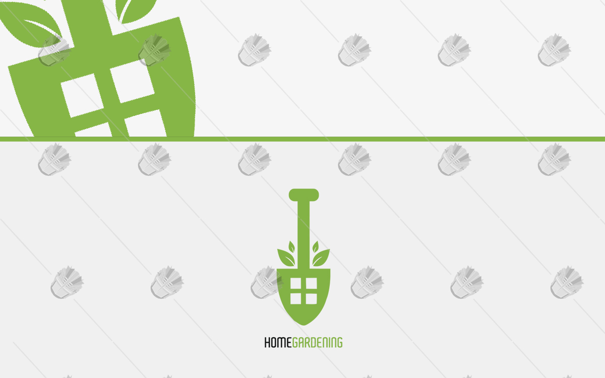 home gardening logo for sale