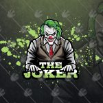 Joker eSports Logo To Buy Online | Joker Mascot Logo For Sale