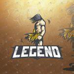 Warrior Mascot Logo | Warrior eSports Logo For Sale