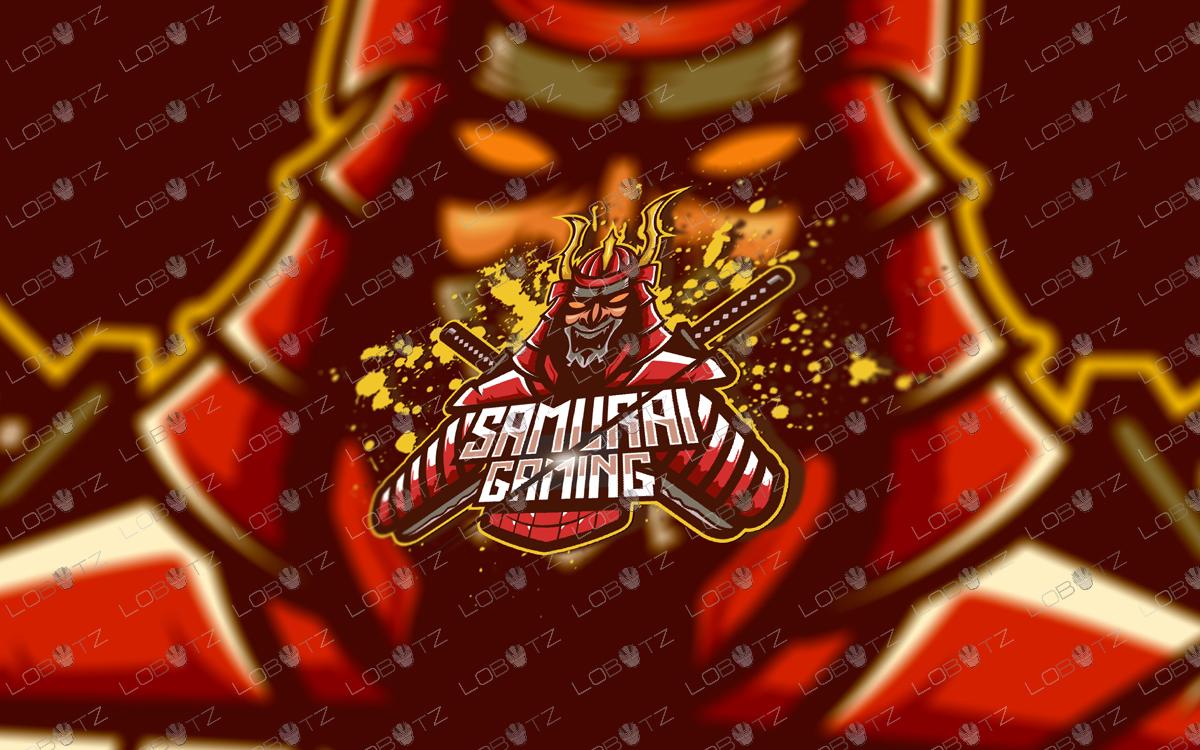 samurai mascot logo samurai esports logo