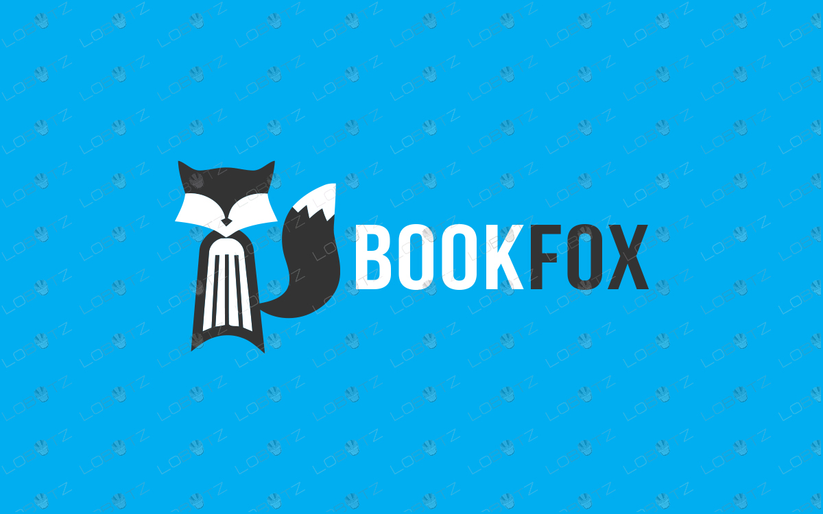 book fox logo for sale