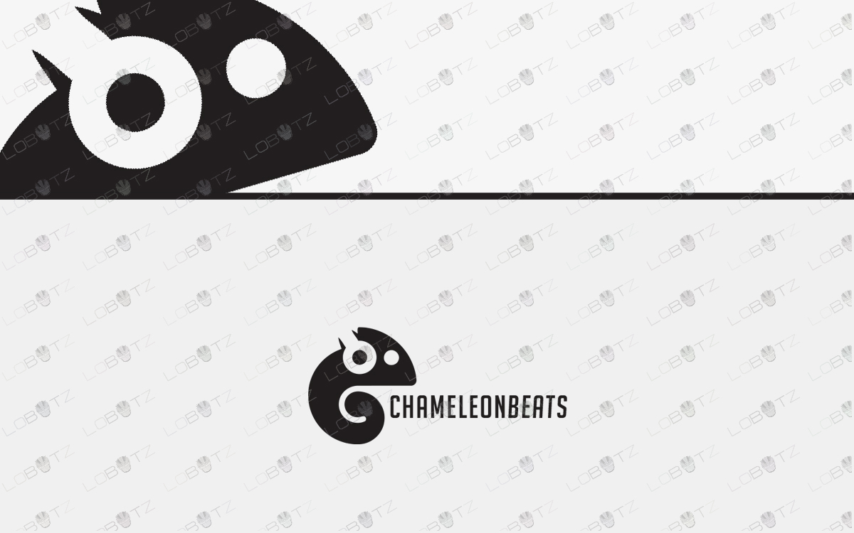 chameleon logo for sale