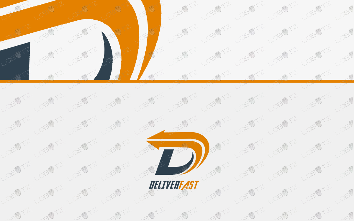 delivery logo for sale