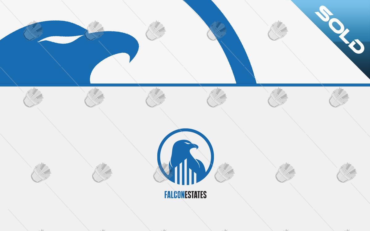 falcon real estate logo for sale