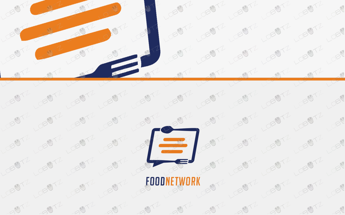 knife and fork logo food logo for sale