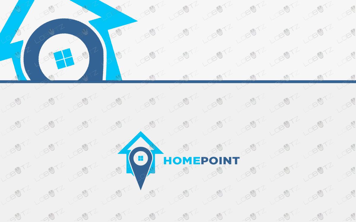 real estate house logo property logo