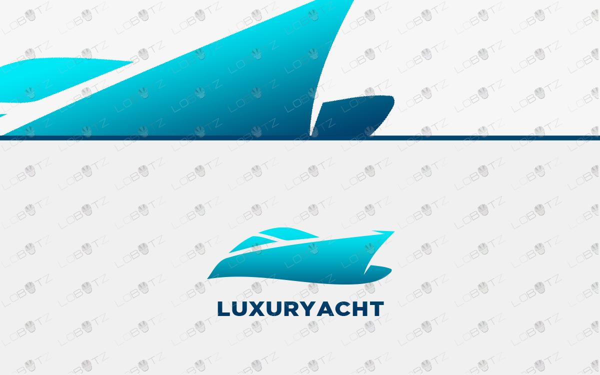 yacht logo for sale