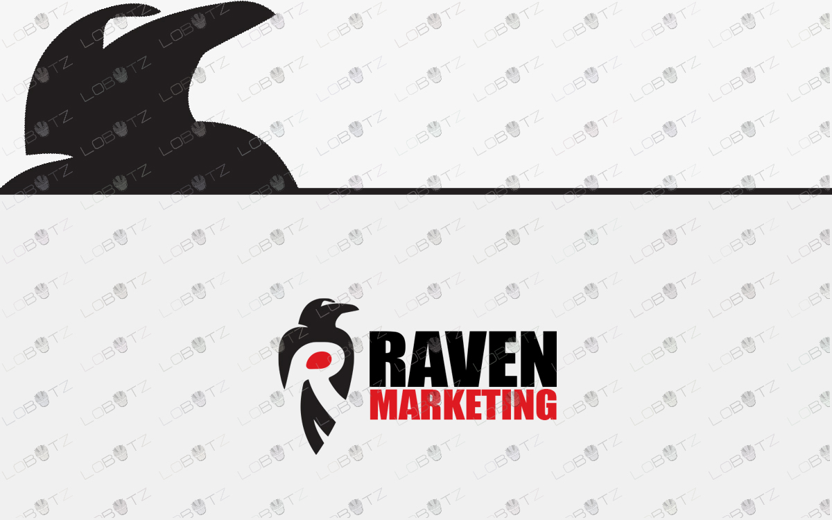raven logo for sale