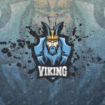 Viking Mascot Logo | Viking eSports Logo For Sale