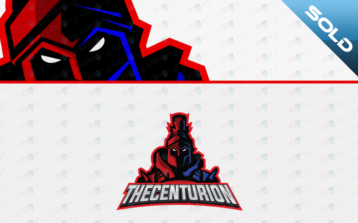 centurion mascot logo for sale