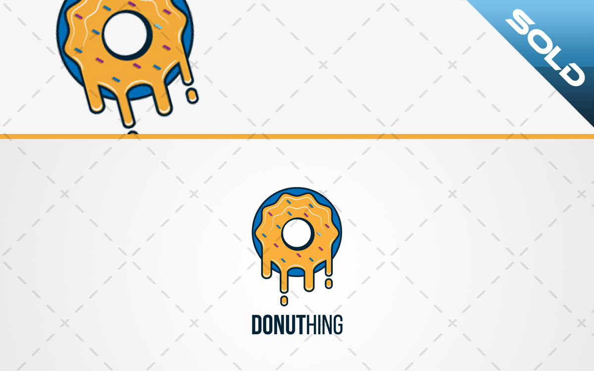 tasty donut logo for sale