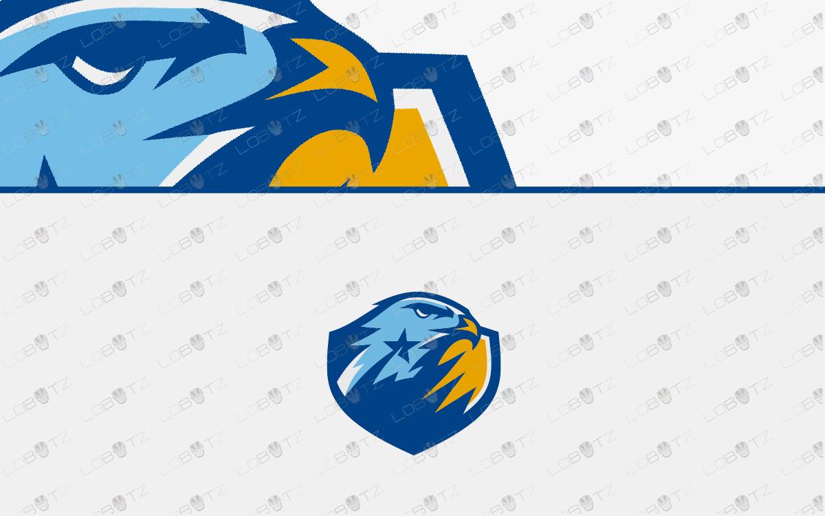 falcon esports logo falcon mascot logo falcon sports logo