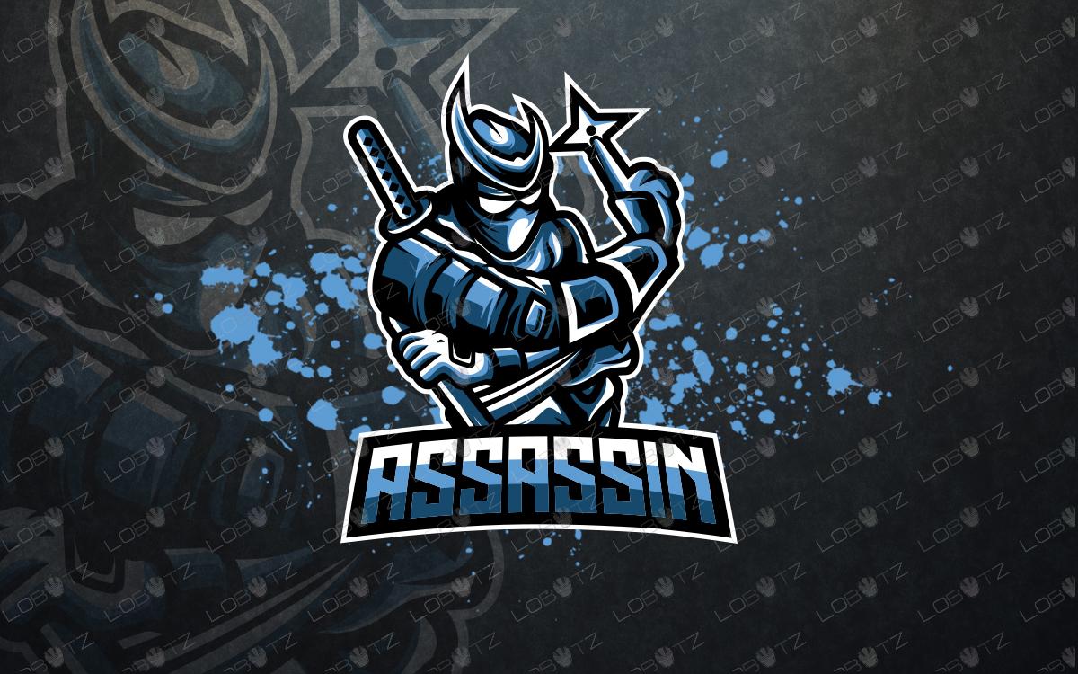 ninja esports logo ninja mascot logo