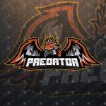 Spectacular Crest Eagle Mascot Logo For Sale