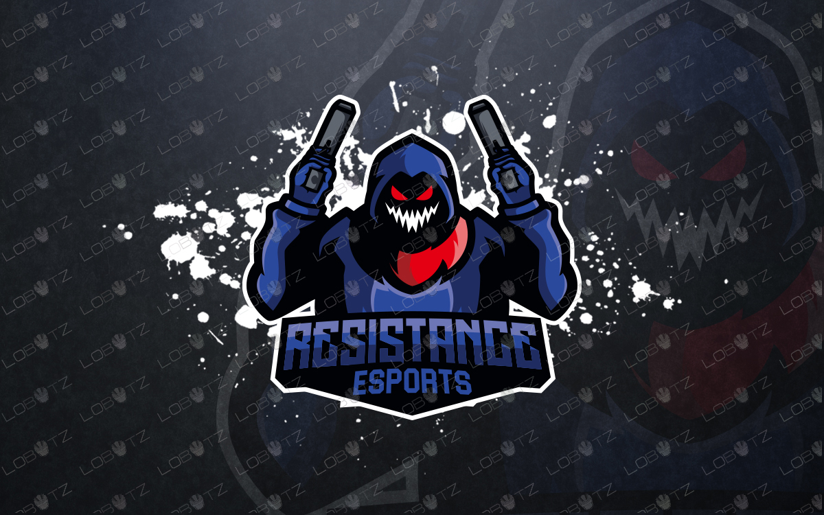esports logo for sale mascot logo