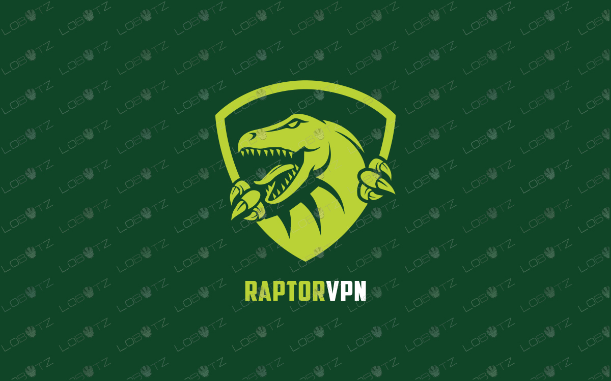 vpn security raptor logo for sale