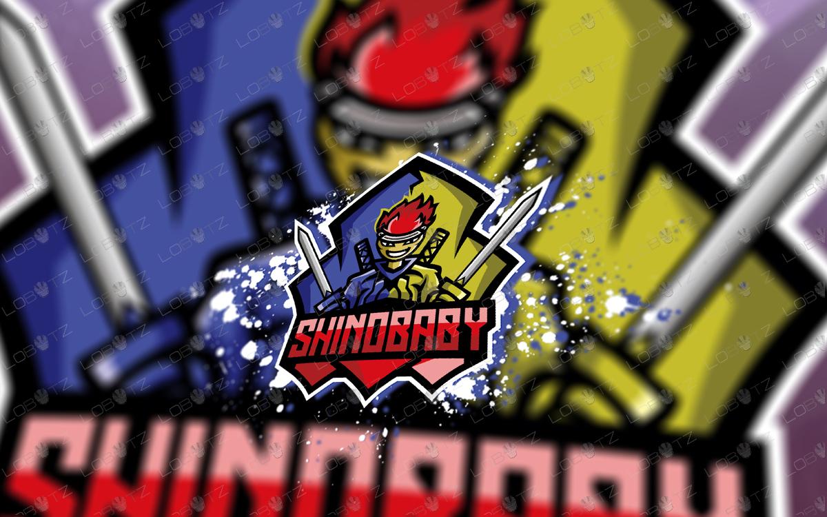 samurai mascot logo ninja mascot logo for sale