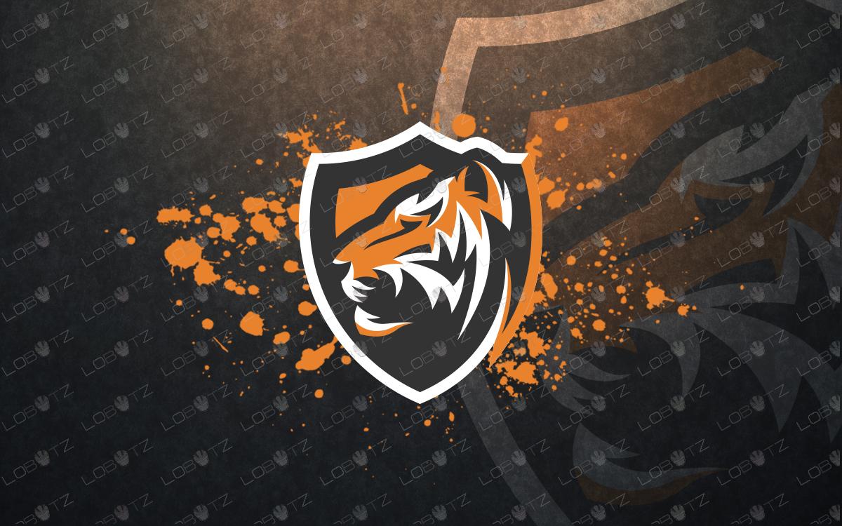 tiger esportslogo tiger mascotlogo