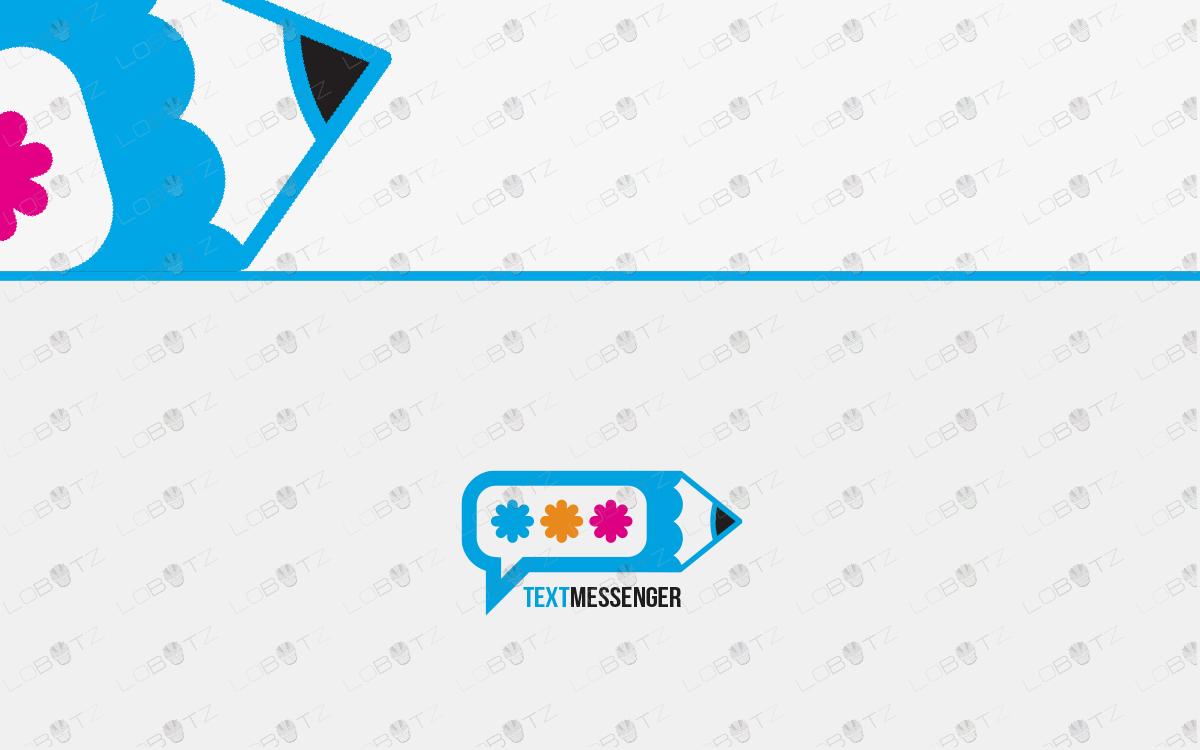 pencil messenger logo