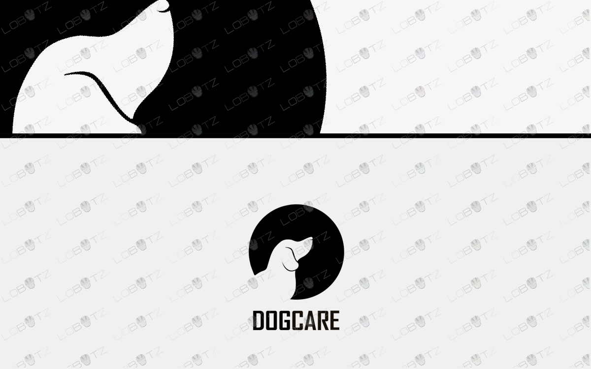 dog logo for sale