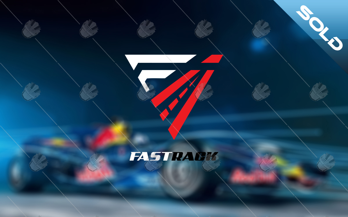 fast track racing logo for sale