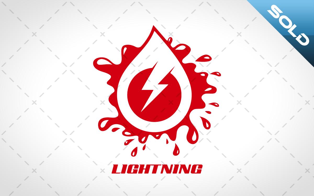 Lightning Logo for sale