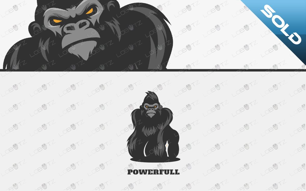 ape logo for sale gorilla logo