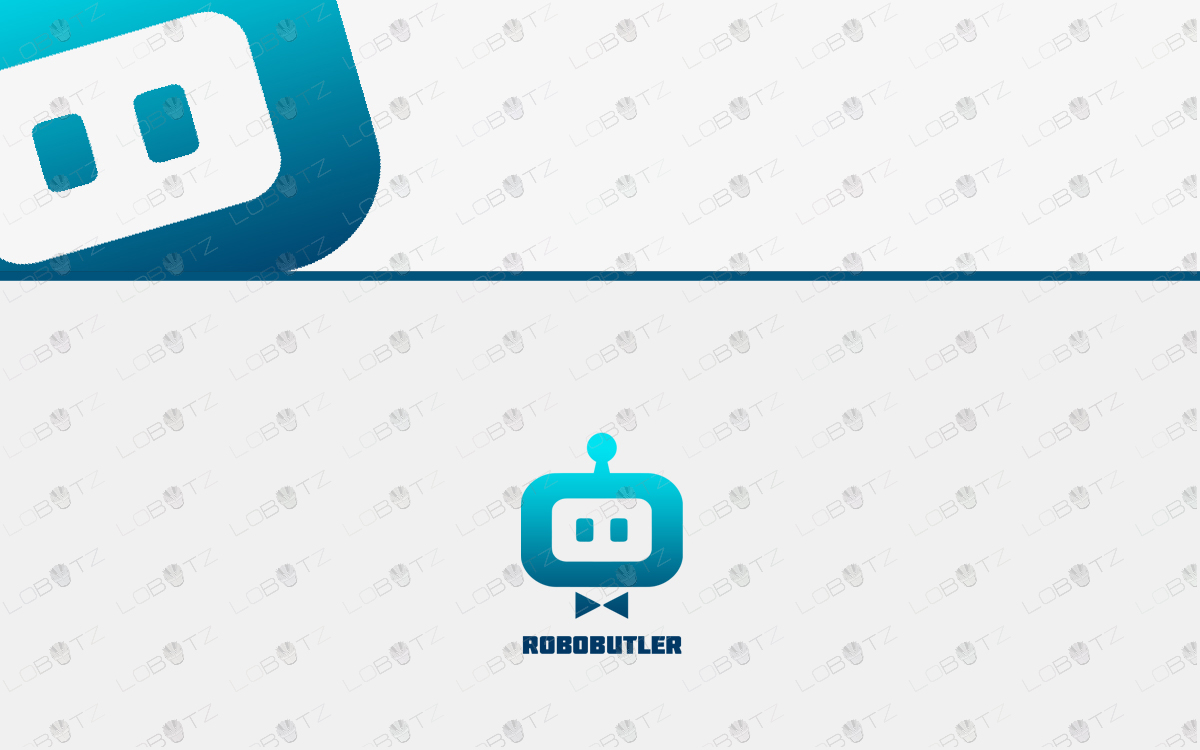robot logo for sale