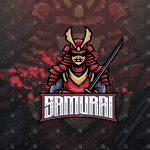 Samurai Mascot Logo | Samurai eSports Logo For Sale