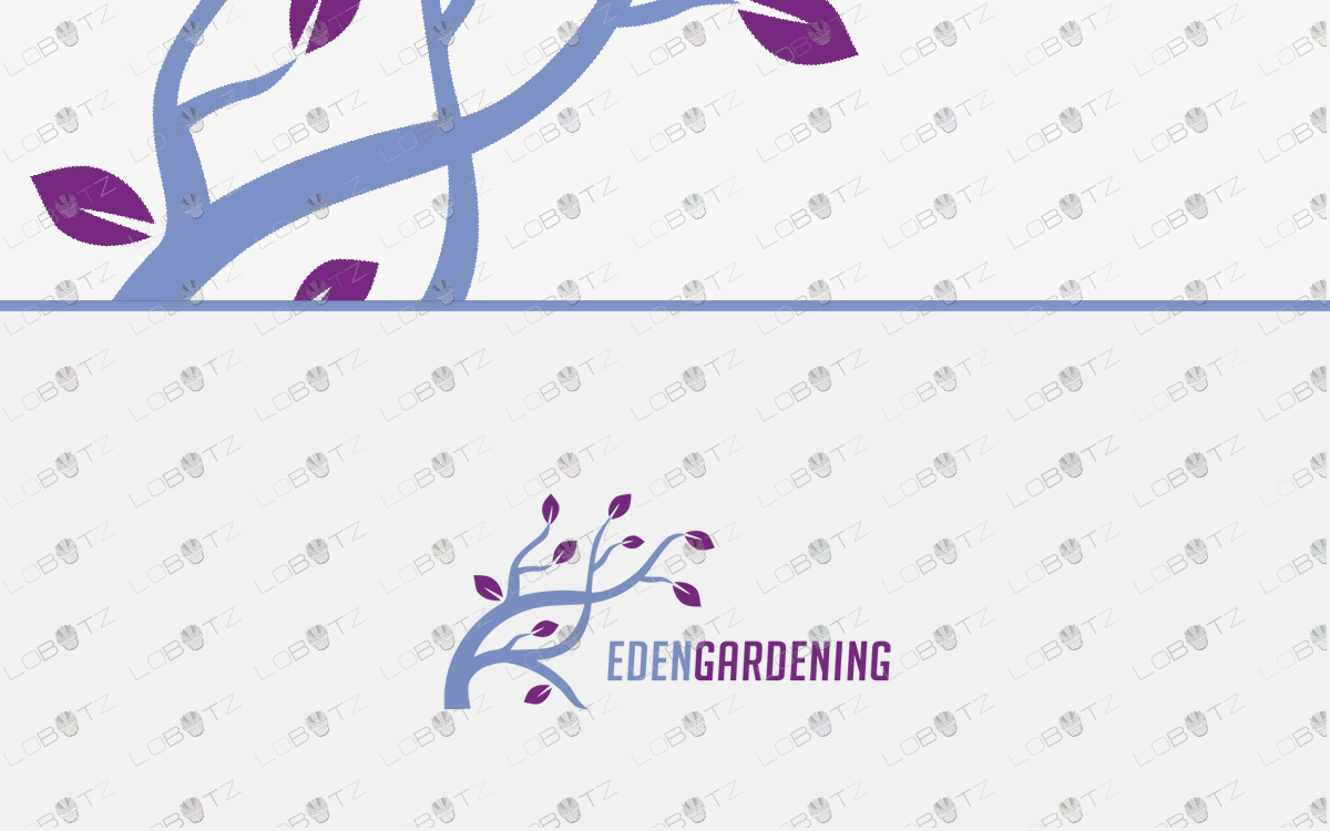 Gardening logo for sale