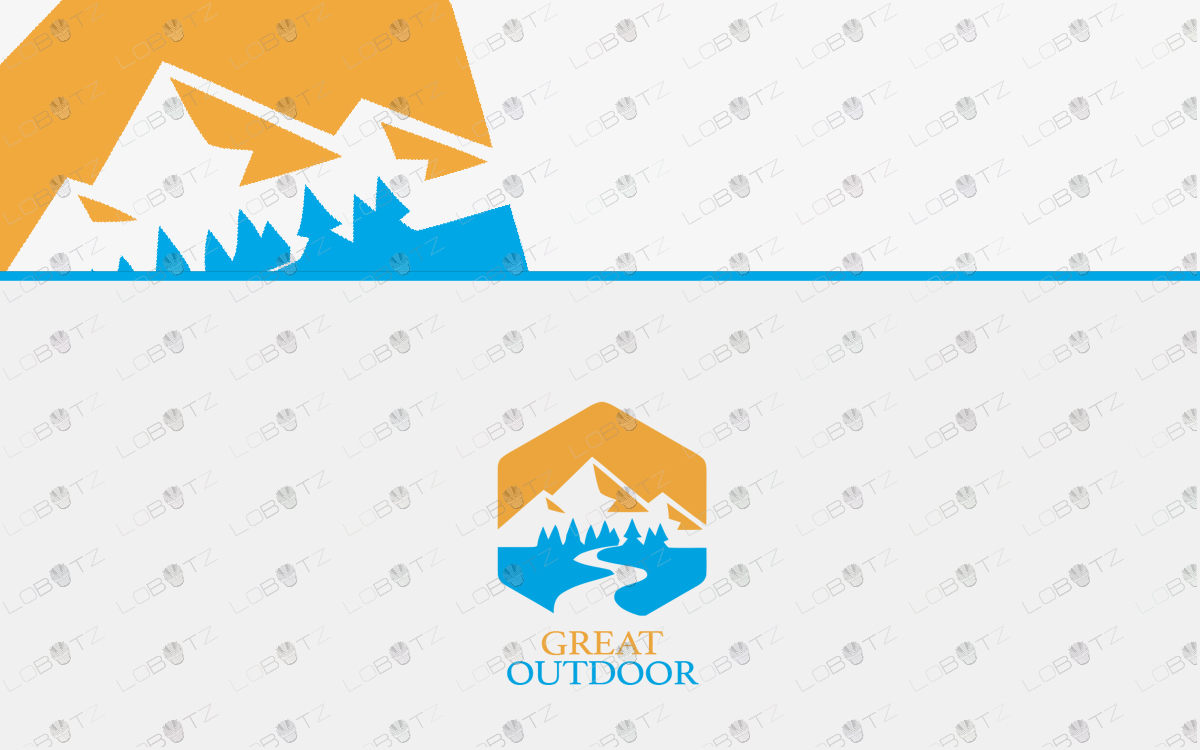 adventure outdoor logo for sale