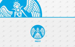 pretty angel logo for sale