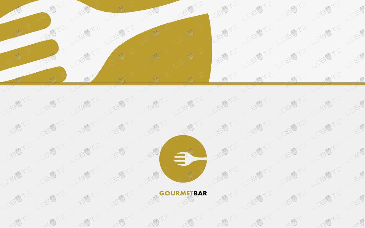 gourmet food logo for sale