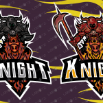 Knight eSports Logo | Knight Mascot Logo For Sale