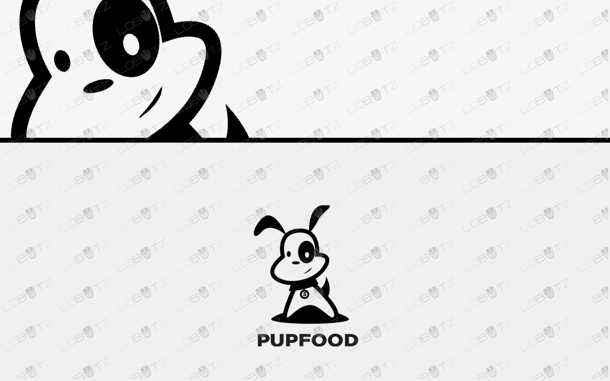 puppy logo for sale premade dog logo